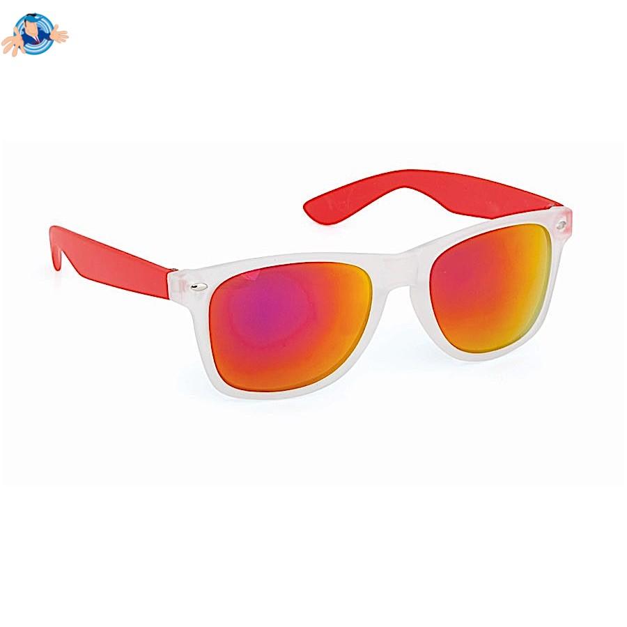 Occhiali da sole con lenti a specchio colorate promozionale sped gratis yesmarket - Occhiali lenti colorate a specchio ...