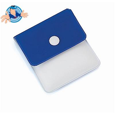 Posacenere tascabile con apertura con bottone