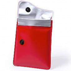 Posacenere tascabile con chiusura a bottone