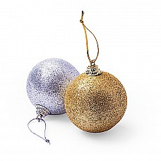 Set 6 palle di Natale