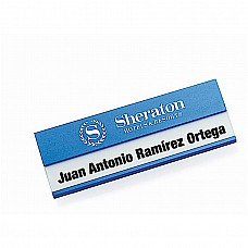 Badge in alluminio