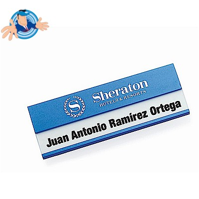 Badge in alluminio
