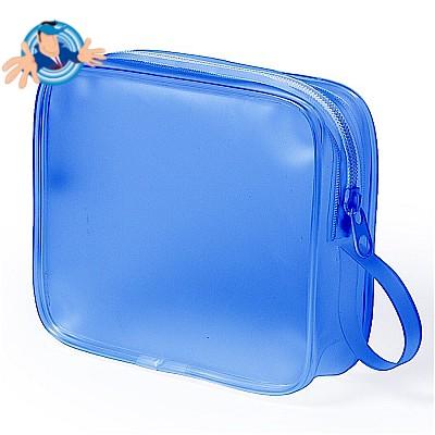 Beauty case semitrasparente