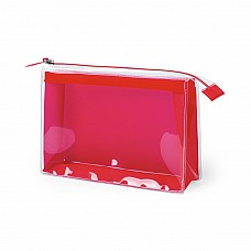 Beautycase trasparente colorato