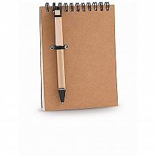 Block Notes Ecologico con penna