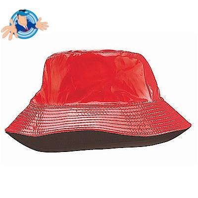 Cappello impermeabile in pvc