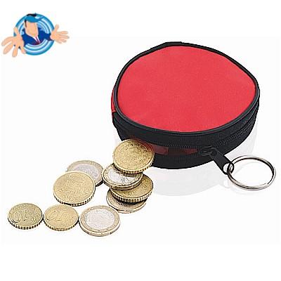 Porta monete in nylon