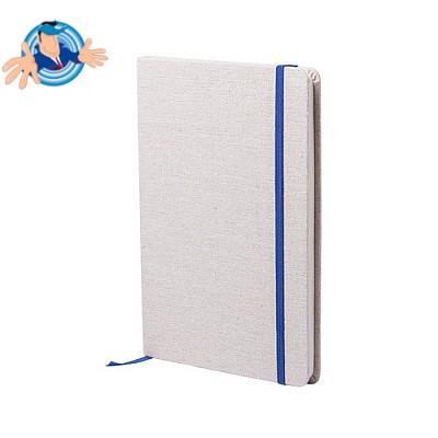Quaderno con copertina in cotone