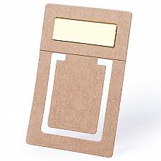 Segnalibro in cartone riciclato con foglietti adesivi