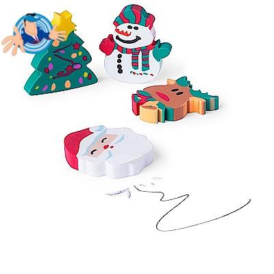 Set Gomme per cancellare natalizie