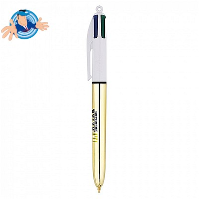 Penna a sfera Bic 4 Colours Shine