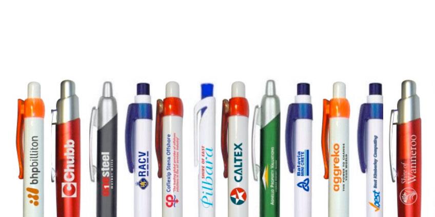 Le penne a sfera personalizzate, un classico articolo promozionale senza tempo.