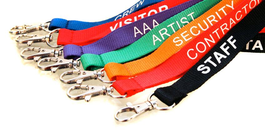Portabadge e Laccetti da collo personalizzati per eventi, fiere e congressi