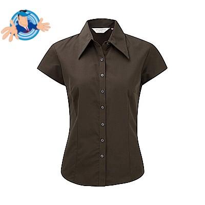 Camicia attillata maniche corte
