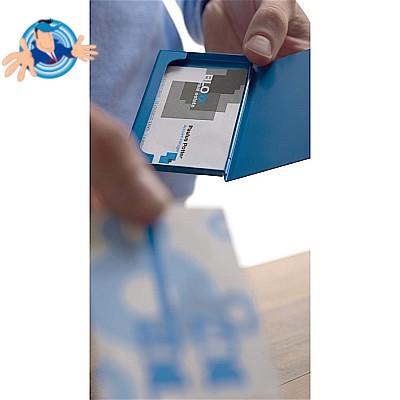Hamosky Porta Biglietti Da Visita Professionale Porta Biglietti Da Visita Porta Biglietti Da Visita In Acciaio Inossidabile Conserva I Biglietti Da Visita In Perfette Condizioni Ns