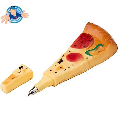 Penna a sfera a forma di pizza