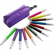 Portapenne con pennarelli