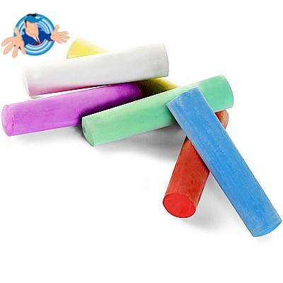Set 6 gessetti colorati