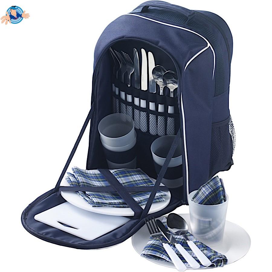economico per lo sconto c7f0b 9c868 Zaino picnic con scomparto termico - Gadget personalizzati - Sped. Gratis -  Yesmarket