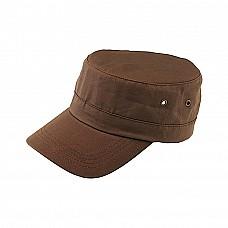 Cappellino stile militare in cotone