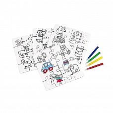 Puzzle da colorare