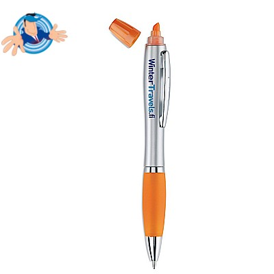 2in1 penna ed evidenziatore