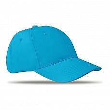 Cappellino da 6 pannelli in cotone