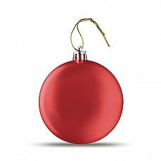 Palla di Natale piatta