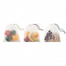 Set sacchetti in RPET con pouch