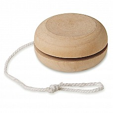 Yo Yo in legno naturale