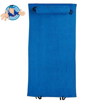 Asciugamano da mare con cuscino