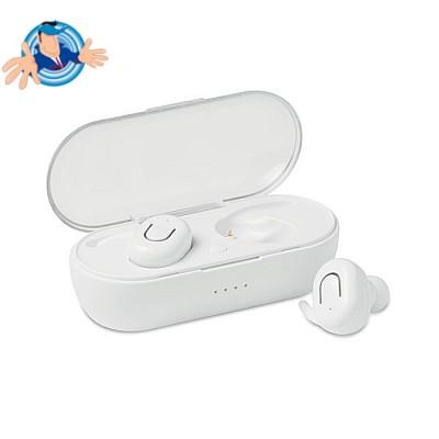 Auricolari stereo Bluetooth in confezione regalo personalizzabile