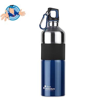 Bottiglia 75 cl bicolore in acciaio inossidabile