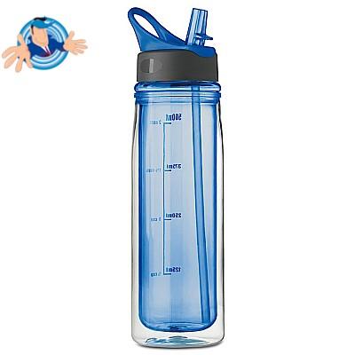 Bottiglia da 550 ml con doppia parete