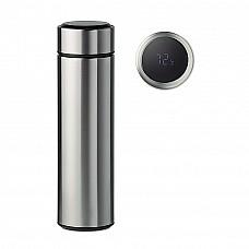 Bottiglia termica in acciaio con infusore e termometro