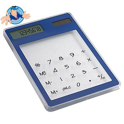 Calcolatrice solare 8 cifre trasparente