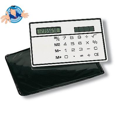 Calcolatrice solare ultrapiatta