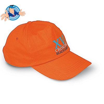 Cappellino golf in cotone