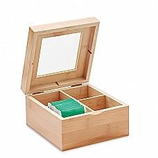 Espositore bustine da tè in bamboo