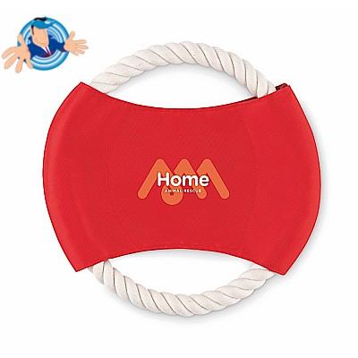 Fresbee per cani in corda