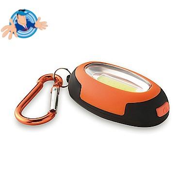 Mini luce COB con moschettone