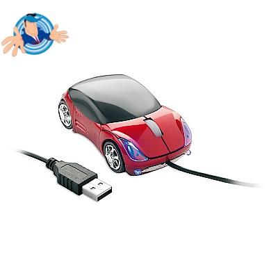 Mouse ottico  a forma di automobile