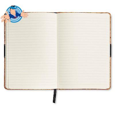 Notebook A5 in sughero