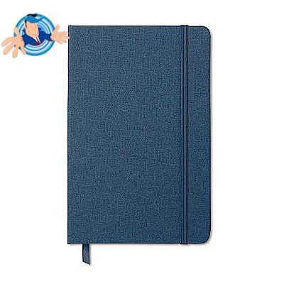 Notebook in tessuto