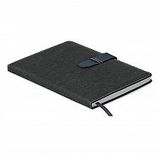 Notes A5 con copertina in cotone