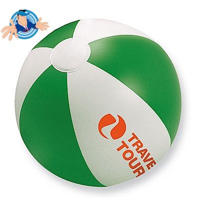 Pallone da spiaggia gonfiabile bicolore