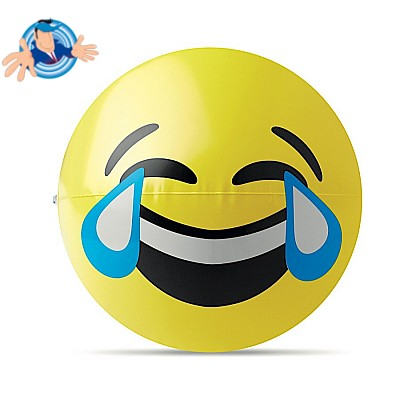 Pallone emoticon che ride alle lacrime
