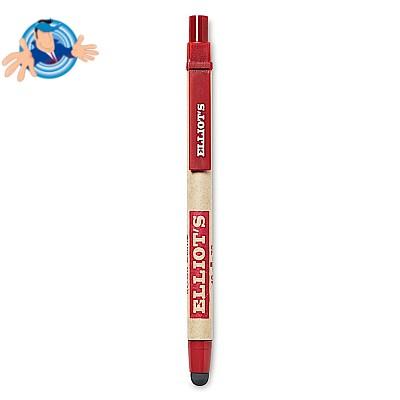 Penna automatica in cartone riciclato