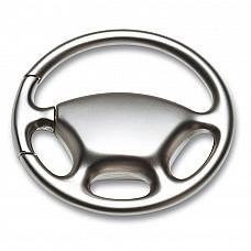 Portachiavi in zinco a forma di volante di automobile