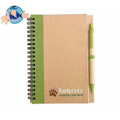 Quaderno in carta riciclata
